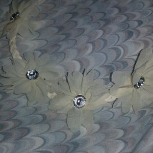 braided daisy headband